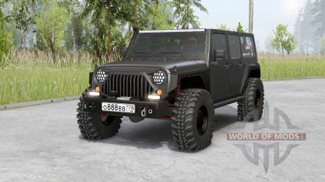 Jeep Wrangler Unlimited Rubicon (JK) 2006 for Spin Tires