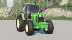 John Deere 7010 series〡wheels selection for Farming Simulator 2017