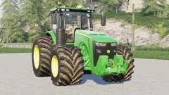 John Deere 8R series〡64 wheels configurations for Farming Simulator 2017