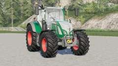 Fendt 700 Vario〡30 types configurations wheels for Farming Simulator 2017