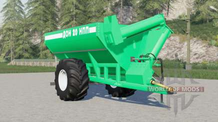 Don-20 NPP 41214 colors to choose from for Farming Simulator 2017