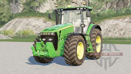 John Deere 8R series〡back fenders configuration for Farming Simulator 2017