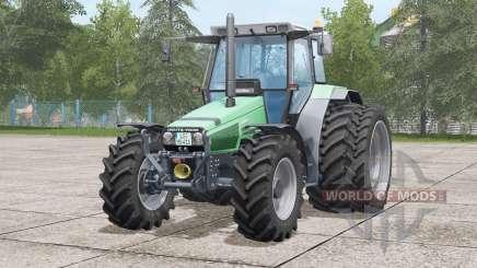 Deutz-Fahr AgroStar 6.38〡there are dual rear wheels for Farming Simulator 2017