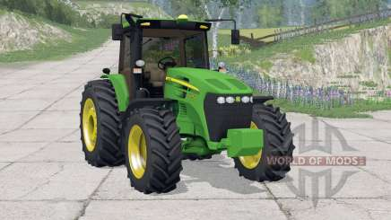 John Deere 7195J〡full lighting for Farming Simulator 2015