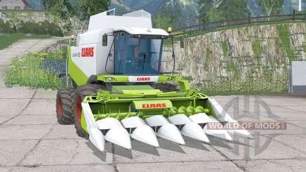 Claas Lexion 530〡dynamic exhausting system for Farming Simulator 2015