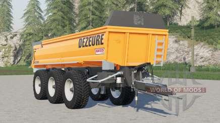 Dezeure TPX 36S for Farming Simulator 2017