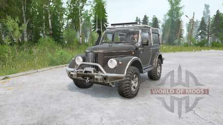 GAZ-69 modernized for MudRunner
