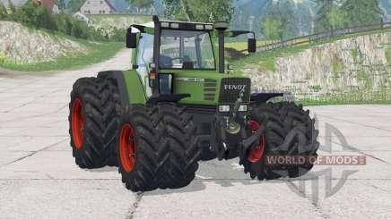 Fendt Favorit 510 C Turbomatik〡added wheels for Farming Simulator 2015