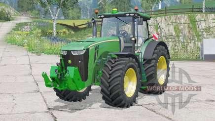 John Deere 8370R〡full lights system for Farming Simulator 2015