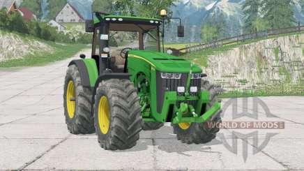 John Deere 8370R〡fixed some bugs for Farming Simulator 2015