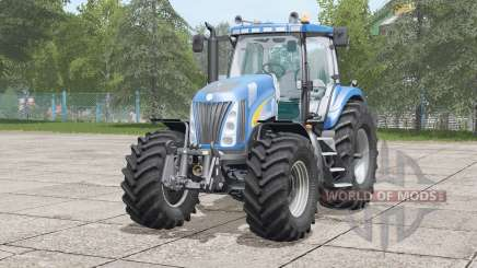 New Holland TG285〡animated fenders for Farming Simulator 2017