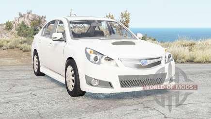 Subaru Legacy B4 (BM) 2009 for BeamNG Drive