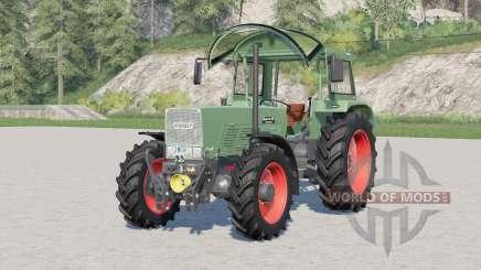 Fendt Favorit 600 S Turbomatik〡engine selection for Farming Simulator 2017