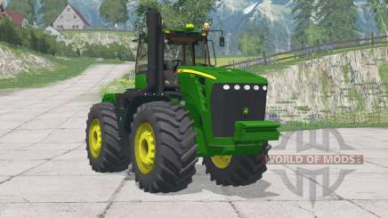 John Deere 9630〡adjusted mass of tractor for Farming Simulator 2015