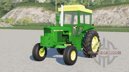 John Deere 4000 series〡includes front counterweight for Farming Simulator 2017