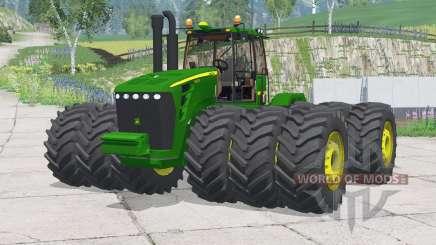 John Deere 9630〡added wheels for Farming Simulator 2015