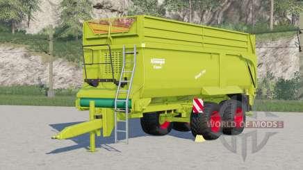 Krampe Bandit 750〡new tires added for Farming Simulator 2017