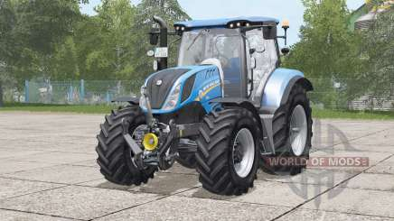New Holland T6 series〡choice color rims for Farming Simulator 2017