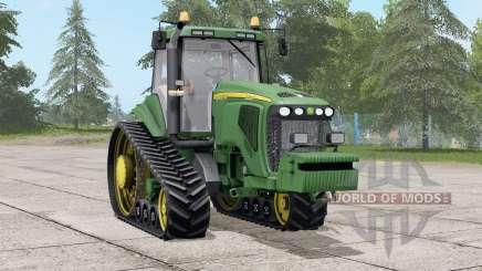 John Deere 8520T〡regulagem do volante for Farming Simulator 2017