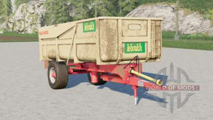 Leboulch Gold 11000 XL〡selectable wheels brand for Farming Simulator 2017