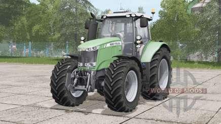 Massey Ferguson 7700 series〡Michelin tires selectable for Farming Simulator 2017
