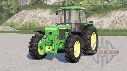 John Deere 3050 series〡3 engine versions for Farming Simulator 2017