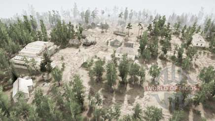 Siberian village for MudRunner
