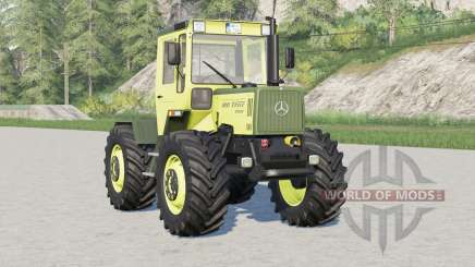 Mercedes-Benz Trac〡there are snow chains for Farming Simulator 2017