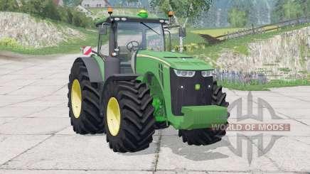 John Deere 8370R〡interactive buttons for Farming Simulator 2015