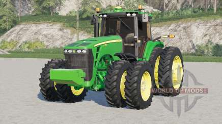 John Deere 8030 series〡includes front weight for Farming Simulator 2017