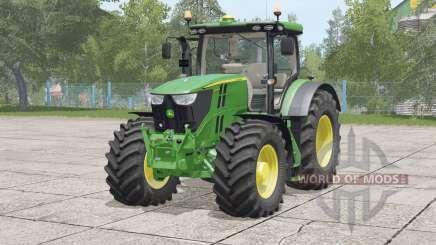 John Deere 6R series〡visual extras for Farming Simulator 2017