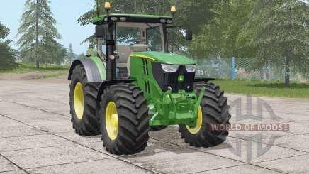 John Deere 6R series〡real Light states for Farming Simulator 2017