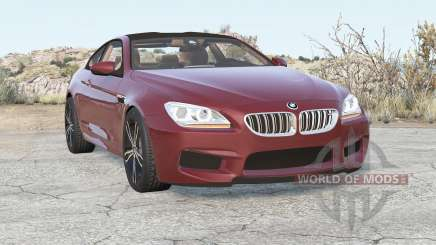 BMW M6 coupe (F13) 2012 for BeamNG Drive