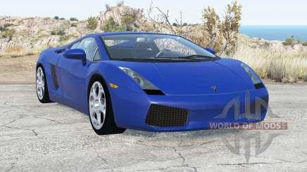 Lamborghini Gallardo 2005 v2.1 for BeamNG Drive