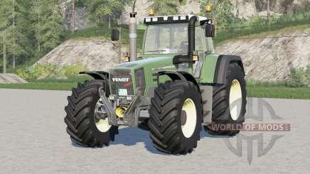 Fendt Favorit 800 Turboshift〡BKT & Continental tires for Farming Simulator 2017