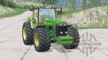 John Deere 8400〡work light for Farming Simulator 2015