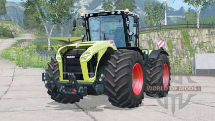 Claas Xerion Trac VC〡removable warning signs for Farming Simulator 2015
