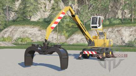 Liebherr LH 40〡with warning stickers for Farming Simulator 2017