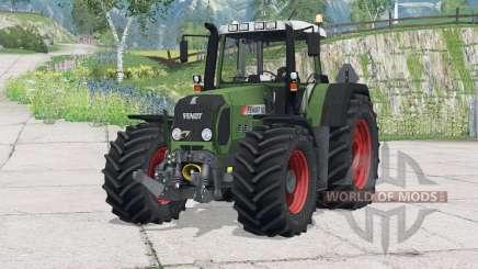 Fendt 820 Vario TMS〡improved hitch drawbar for Farming Simulator 2015