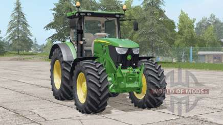 John Deere 6R series〡light adjusted for Farming Simulator 2017
