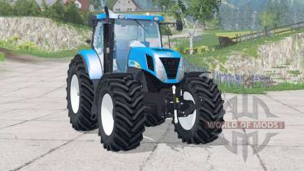 New Holland T7030〡speed increased for Farming Simulator 2015