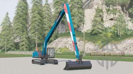 Case CX250D Long Reach for Farming Simulator 2017