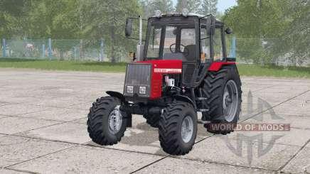 MTZ-820 Belarus〡movable fan for Farming Simulator 2017