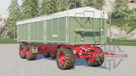 Kröger Agroliner HKD 402〡wooden walls for Farming Simulator 2017