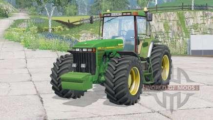 John Deere 8400〡regulagem do volante for Farming Simulator 2015