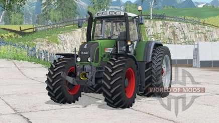 Fendt 820 Vario TMS〡dual rear wheels for Farming Simulator 2015