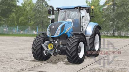 New Holland T6 series〡selectable wheels brand for Farming Simulator 2017