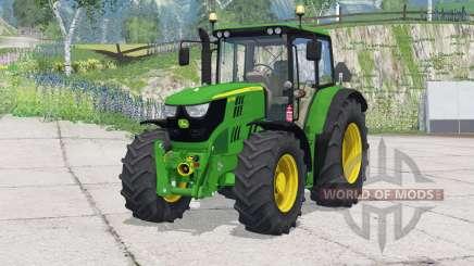 John Deere 6115M〡change wheels for Farming Simulator 2015