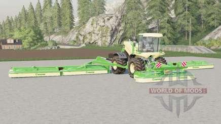 Krone BiG M 500〡working width of 22.6 meters for Farming Simulator 2017