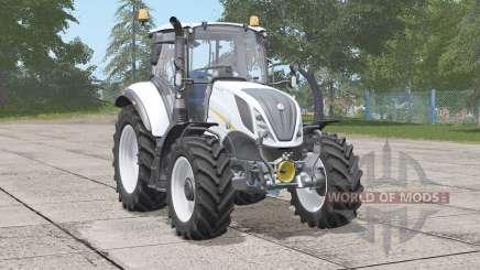 New Holland T5 series〡new exhaust effects for Farming Simulator 2017